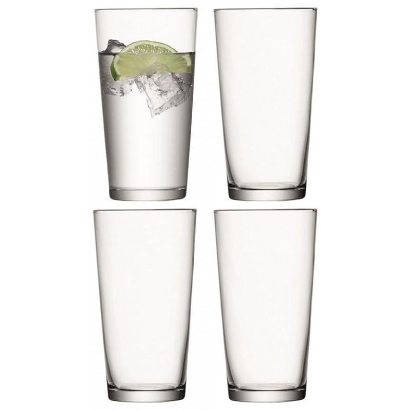 Набор из 4 стаканов для сока LSA International Gio, 320 мл