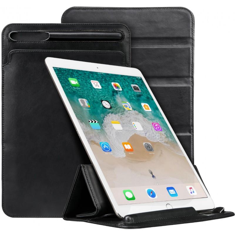 Чехол Jisoncase Mircofiber Leather (JS-PRO-41M10) для iPad Pro 12.9 2018 (Black)