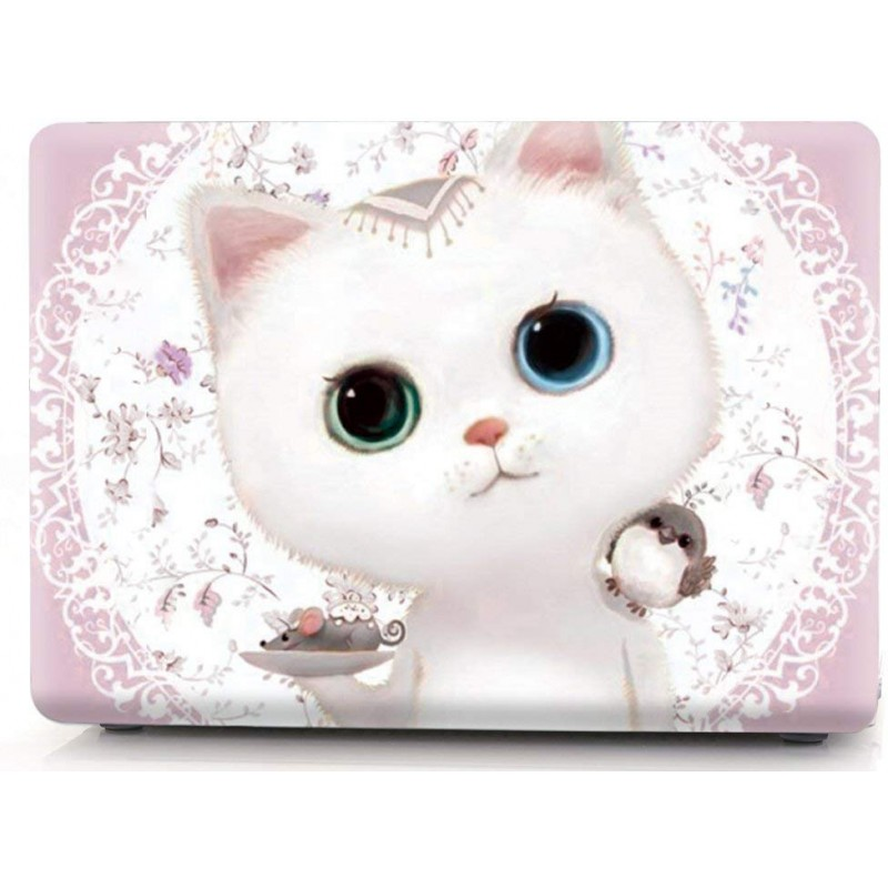 Накладка i-Blason Cover для MacBook Pro 15 A1707 (Cute kitten pink)