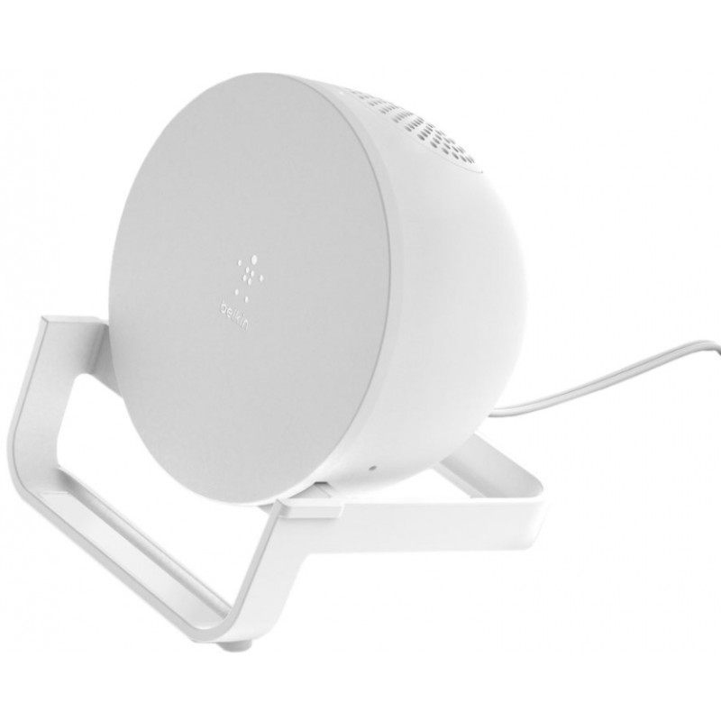 Беспроводное зарядное устройство с динамиком Belkin AUF001vfWH (White)