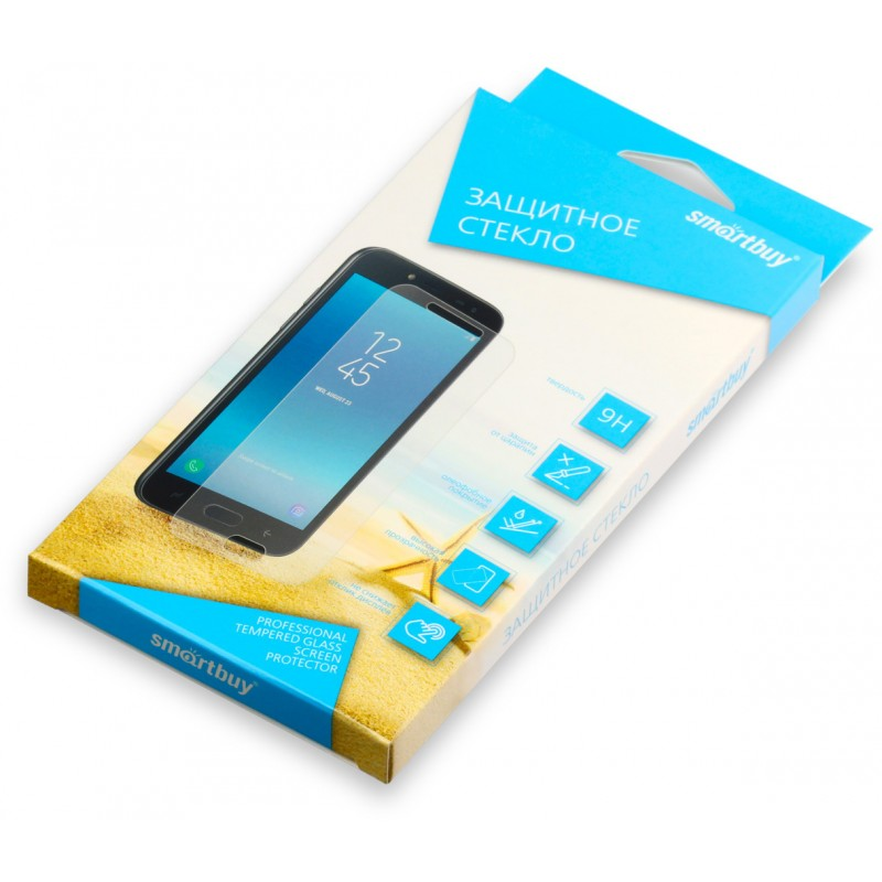Защитное стекло Smartbuy (SBTG-F0080) для Xiaomi Mi8 (Transparent)