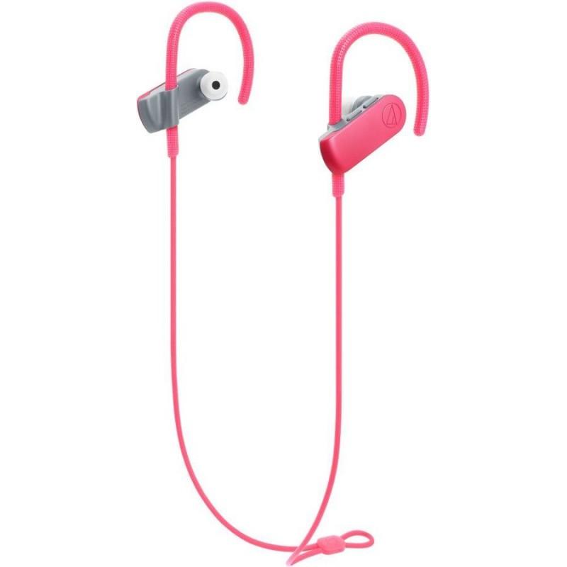 Bluetooth-наушники с микрофоном Audio-Technica ATH-SPORT50BT (Pink)