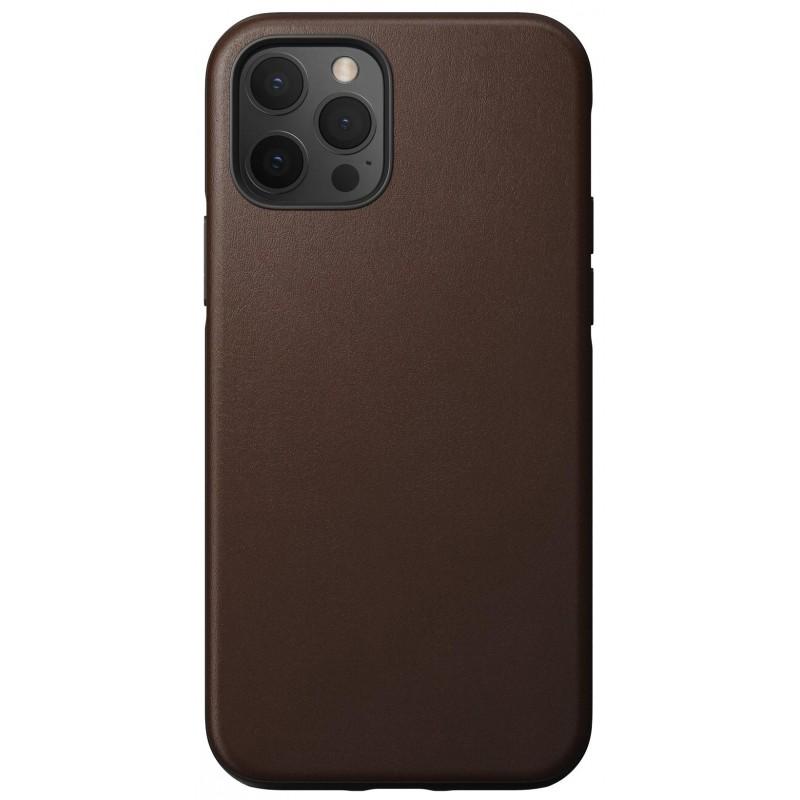 Чехол Nomad Rugged Leather (NM21GR0R00) для iPhone 12/12 Pro (Brown)