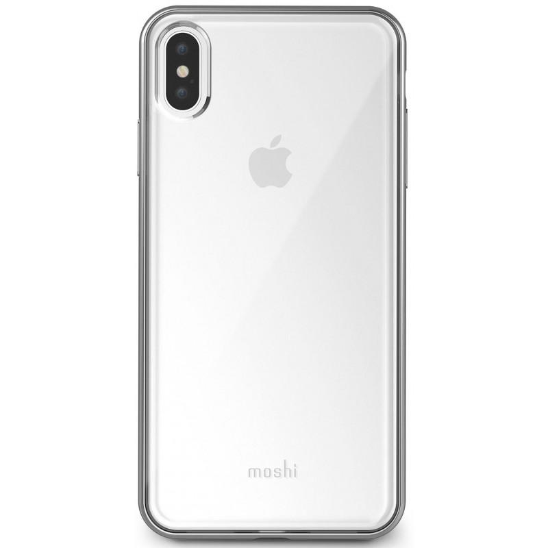 Чехол-накладка Moshi Vitros для iPhone XS Max (Silver)