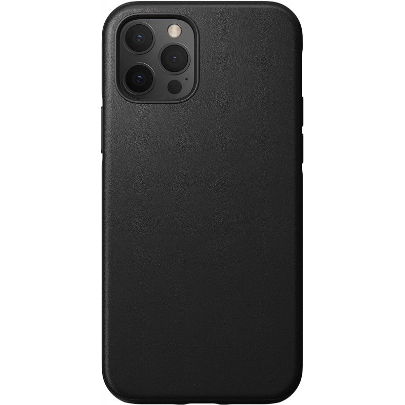 Чехол Nomad Rugged Leather (NM21G10R00) для iPhone 12/12 Pro (Black)