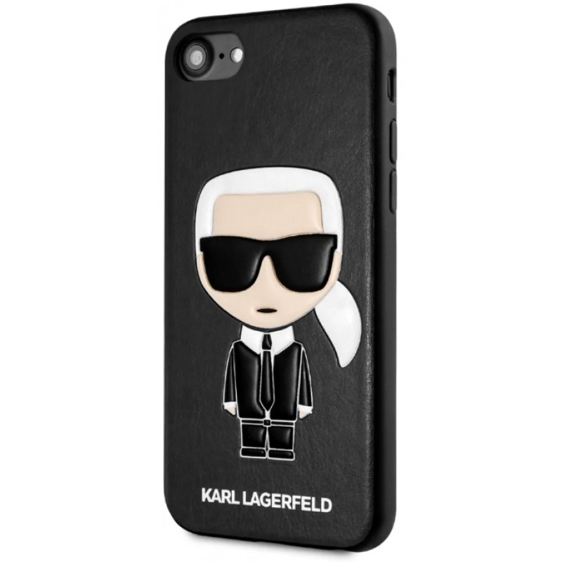 Чехол Karl Lagerfeld PU Leather Iconik (KLHCI8IKPUBK) для iPhone 7/8/SE 2020 (Black)