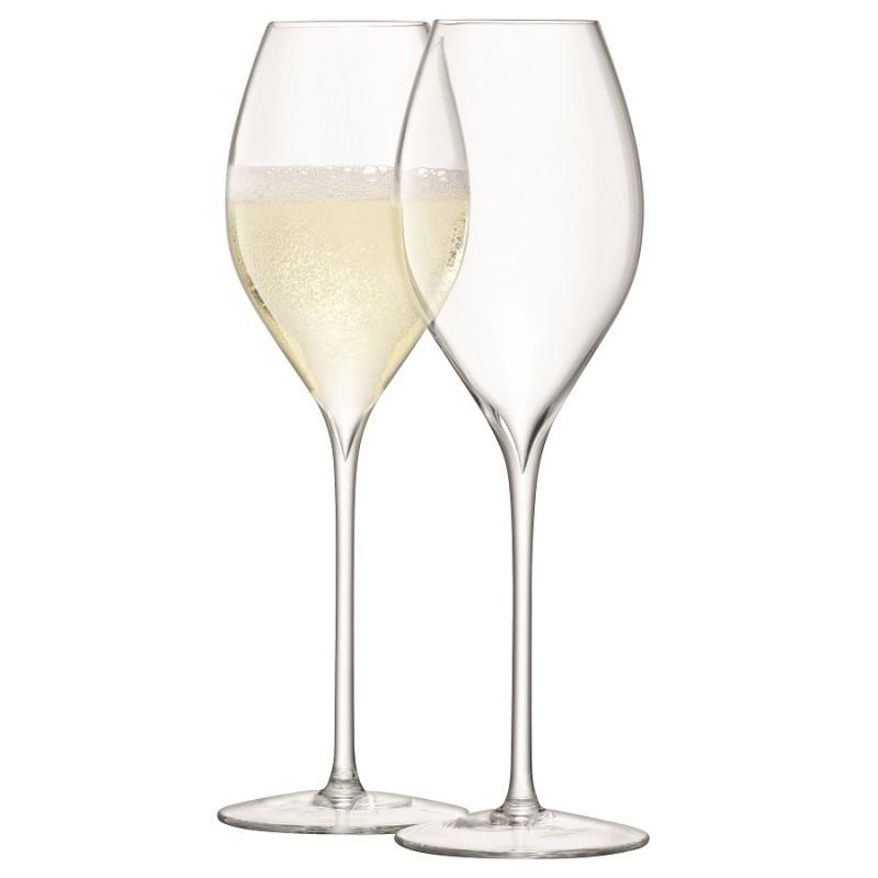 Набор из 2 бокалов для просекко LSA International Wine, 370 мл