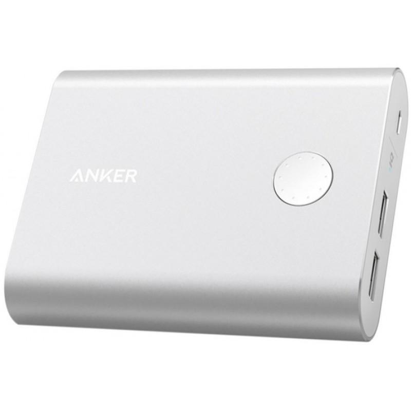 Внешний аккумулятор Anker PowerCore+ 13400 mAh A1316H41 (Silver)