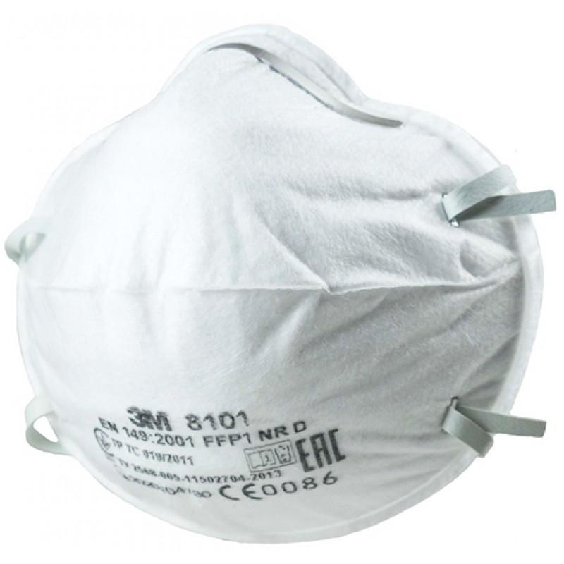 Респиратор 3M 8101 FFP1 (White)