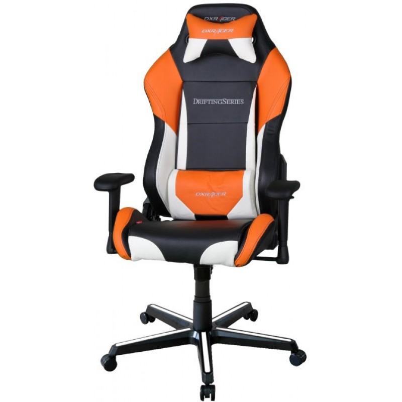 Компьютерное кресло DXRacer OH/DM61/NWO (Black/White/Orange)