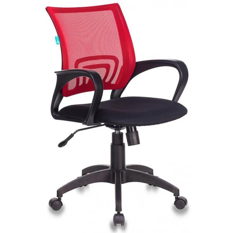 Офисное кресло Бюрократ CH-695NLT/R/TW-11 (Red/Black)