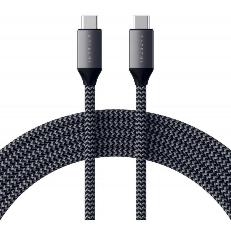 Кабель Satechi ST-TCC2MM USB-C 2m (Space Grey)
