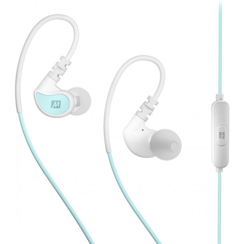 Наушники с микрофоном MEE audio X1 (Mint/White)