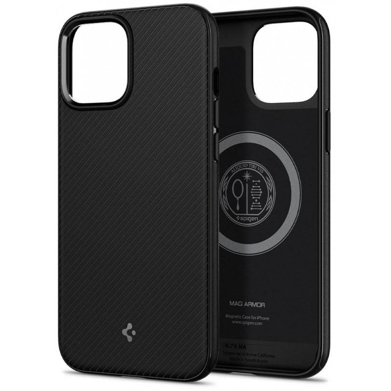 Чехол Spigen MagArmor (ACS01866) для iPhone 12 mini (Black)