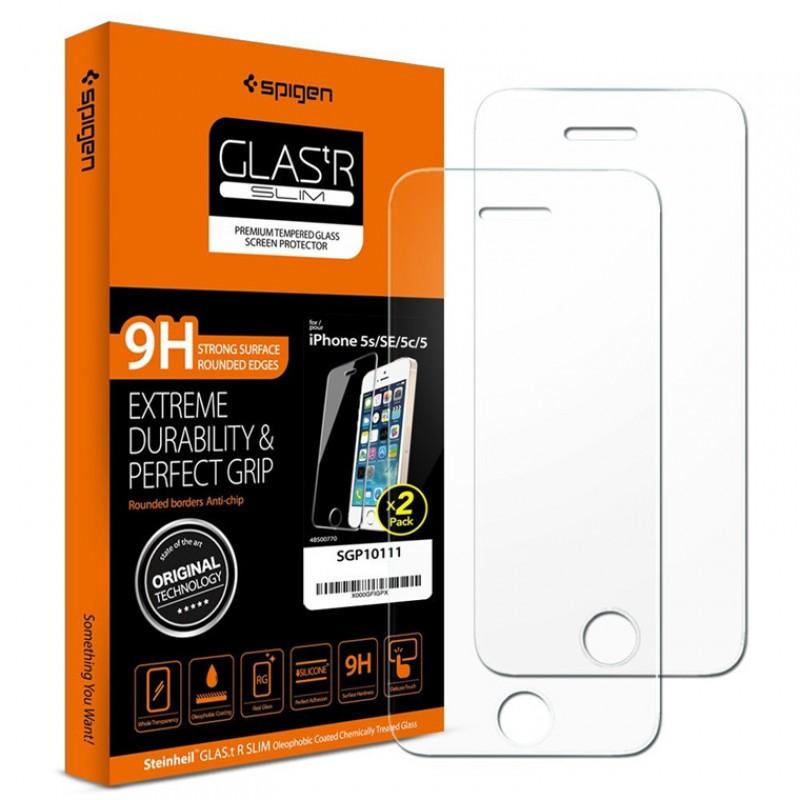 Защитное покрытие SGP Oleophobic Coated Tempered Glass GLAS.tR SLIM (SGP10111) для iPhone 5/5S