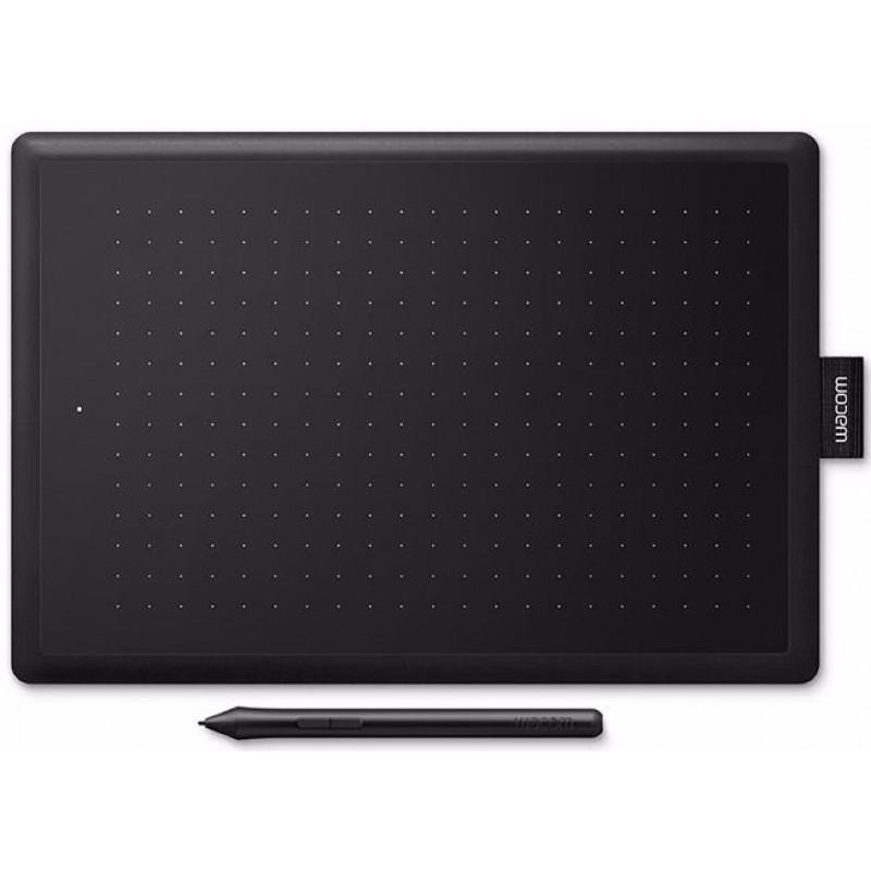 Графический планшет Wacom One Medium CTL-672 (Black/Red)