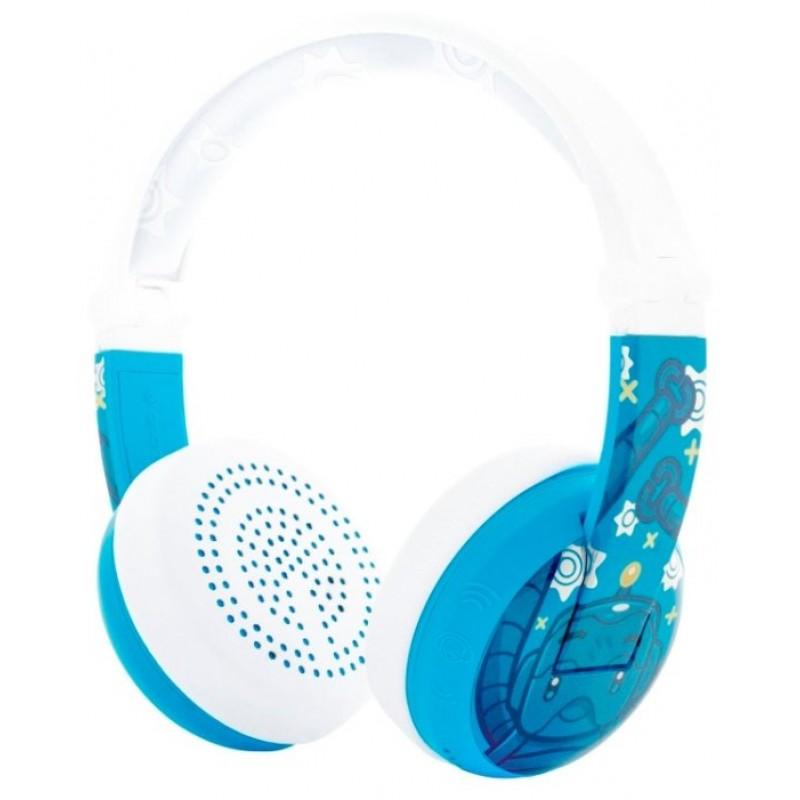 Детские Bluetooth-наушники с микрофоном BuddyPhones Wave (Robot)