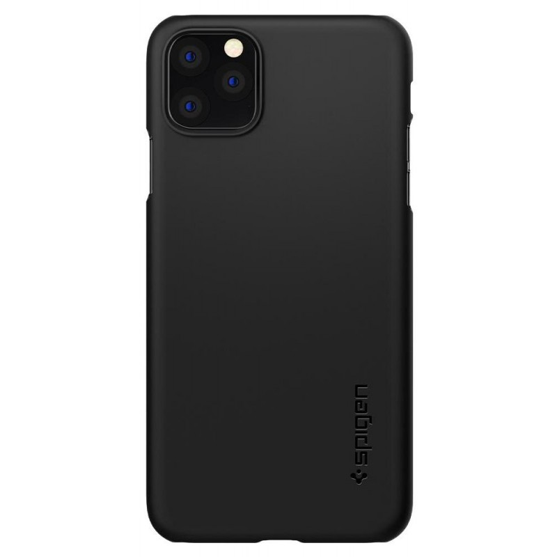 Чехол Spigen Thin Fit (075CS27127) для iPhone 11 Pro Max (Black)