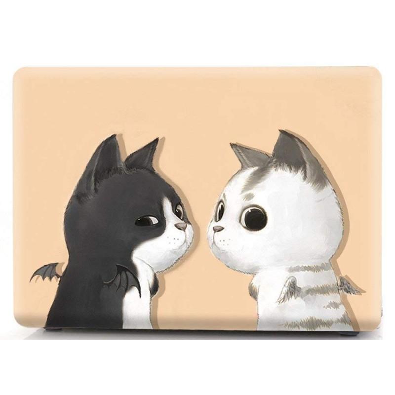 Накладка i-Blason Cover для MacBook Pro 15 A1707 (Black White Cat)
