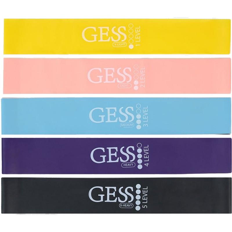 Набор фитнес-резинок Gess Flex Set (GESS-092)