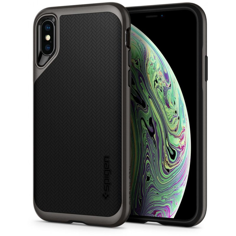 Чехол Spigen Neo Hybrid (065CS24838) для iPhone Xs Max (Gunmetal)