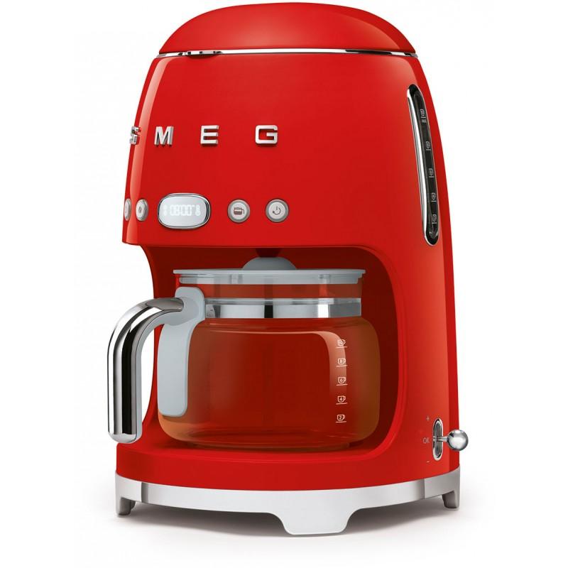 Капельная кофемашина Smeg DCF02RDEU (Red)