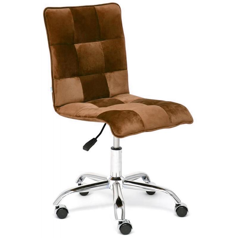 Офисное кресло Tetchair Zero (Brown Velvet)