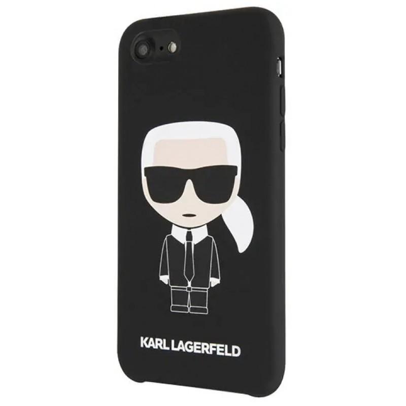 Чехол Karl Lagerfeld Liquid Iconic (KLHCI8SLFKBK) для iPhone 7/8/SE 2020 (Black)