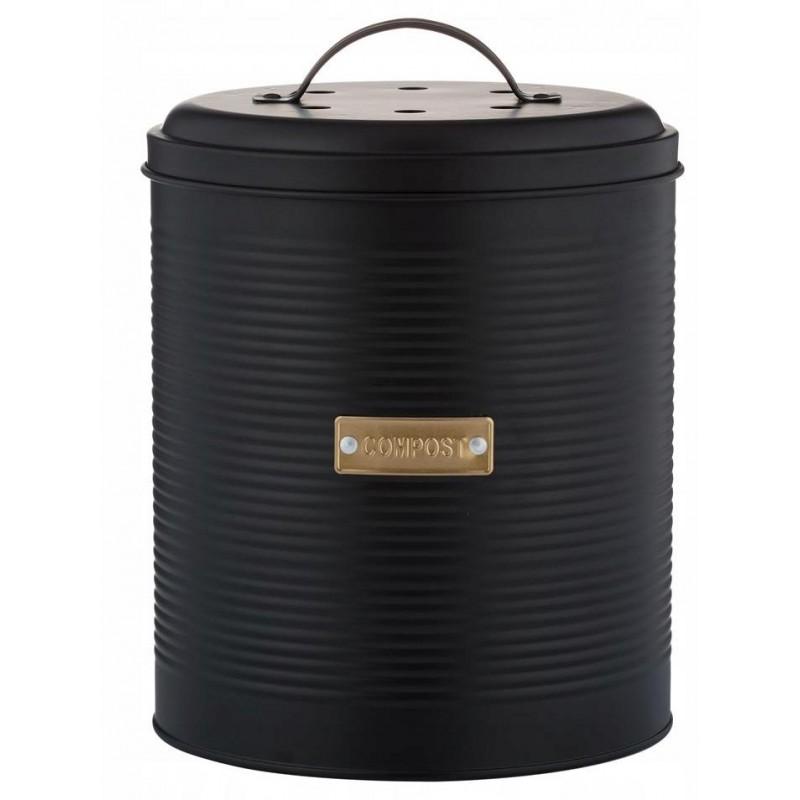 Контейнер для пищевых отходов Typhoon Otto (1401.168V) 2,5 л (Black)