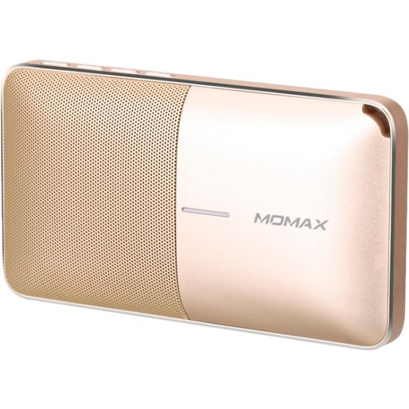 Портативная акустика Momax Zonic Wireless BST3GLD (Gold)