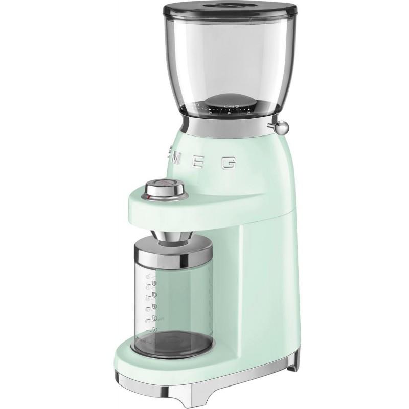 Кофемолка Smeg CGF01PGEU (Pastel Green)