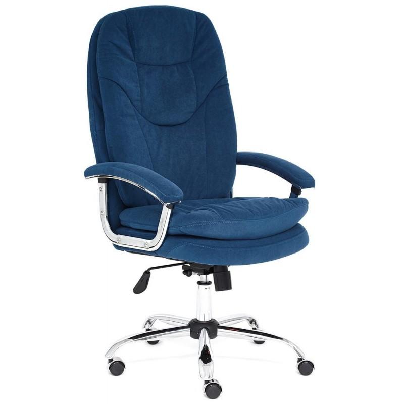 Офисное кресло Tetchair Softy Lux (Blue Flock)