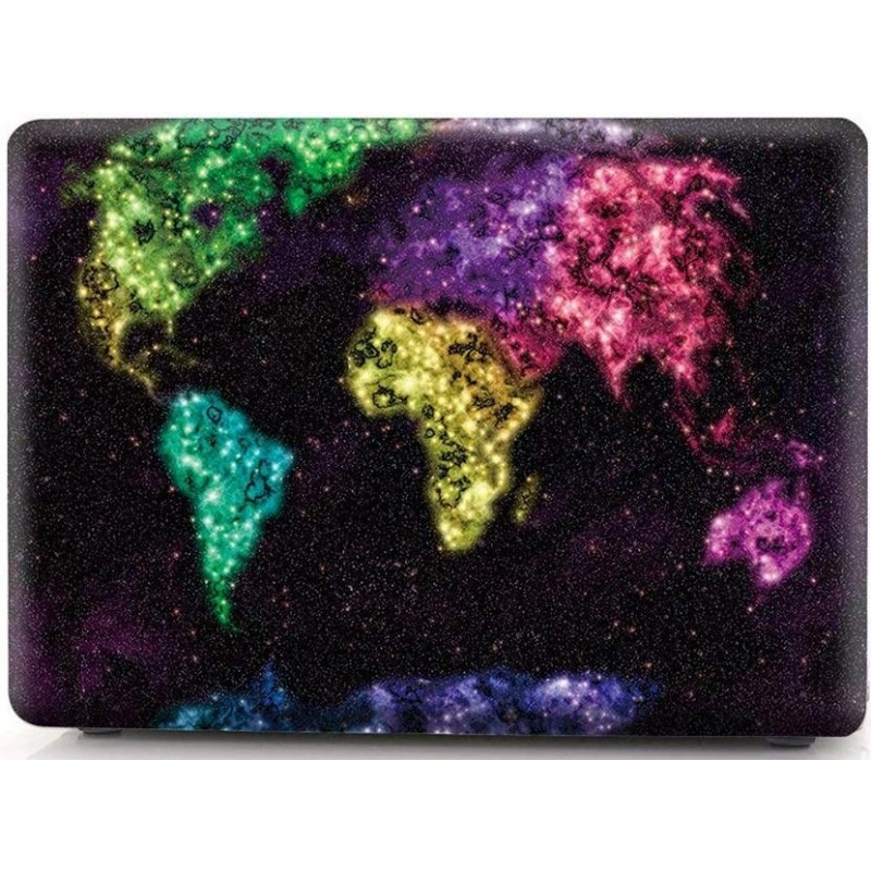 Накладка i-Blason Cover для MacBook Pro 15 A1707 (Creative World Map)