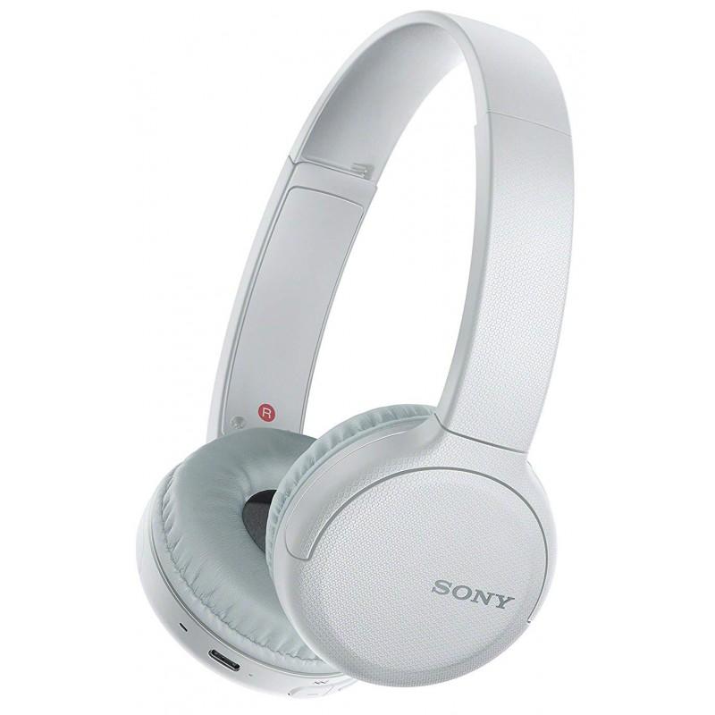 Bluetooth-наушники Sony WH-CH510 с микрофоном (White)