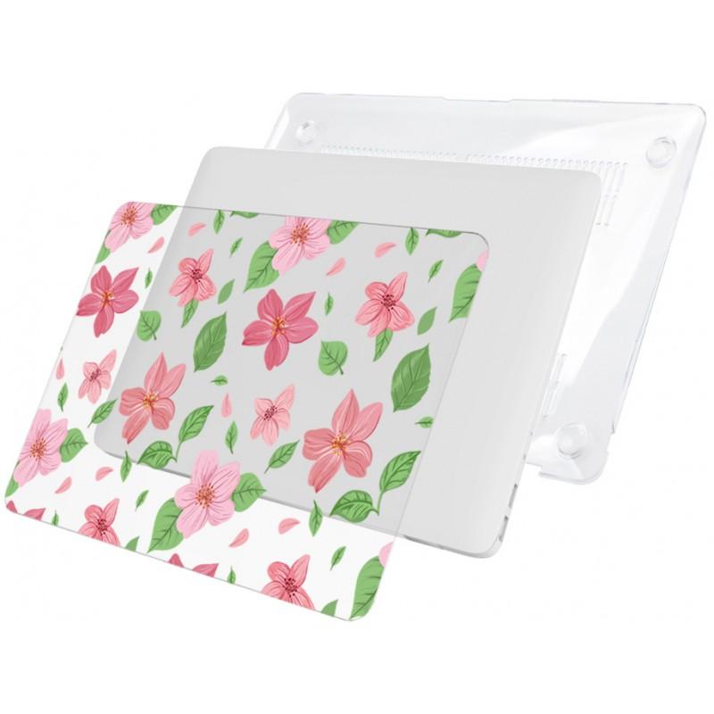 Накладка i-Blason Cover для MacBook Pro 15 A1707 (Pink Flowers)