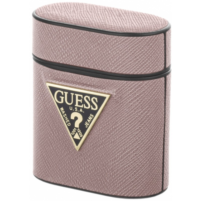 Чехол Guess CG Mobile (GUACA2VSATMLPI) для AirPods 1/2 (Pink)