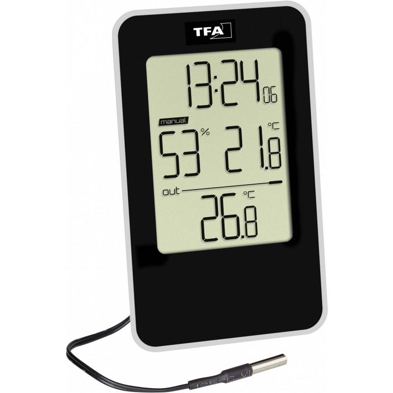 Термогигрометр TFA 30.5048.01 (Black)