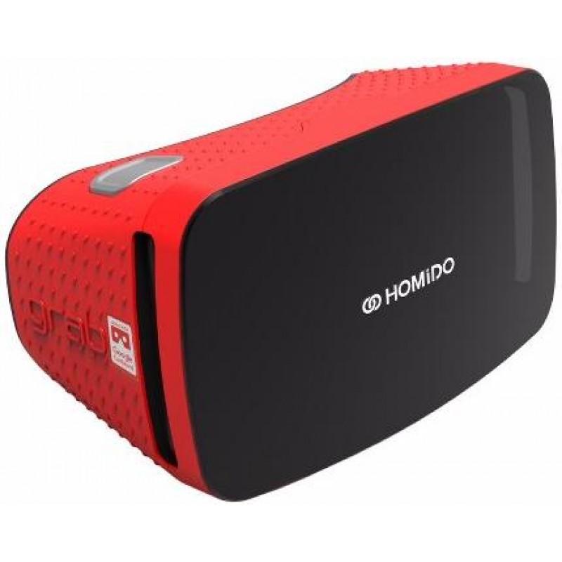 Очки виртуальной реальности Homido Grab (Red)