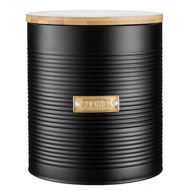 Емкость для хранения печенья Typhoon Otto (1401.171V) 2,6 л (Black)