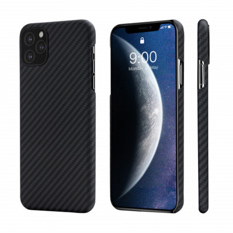 Чехол Pitaka MagCase (KI1101M) для iPhone 11 Pro Max (Black/Grey)