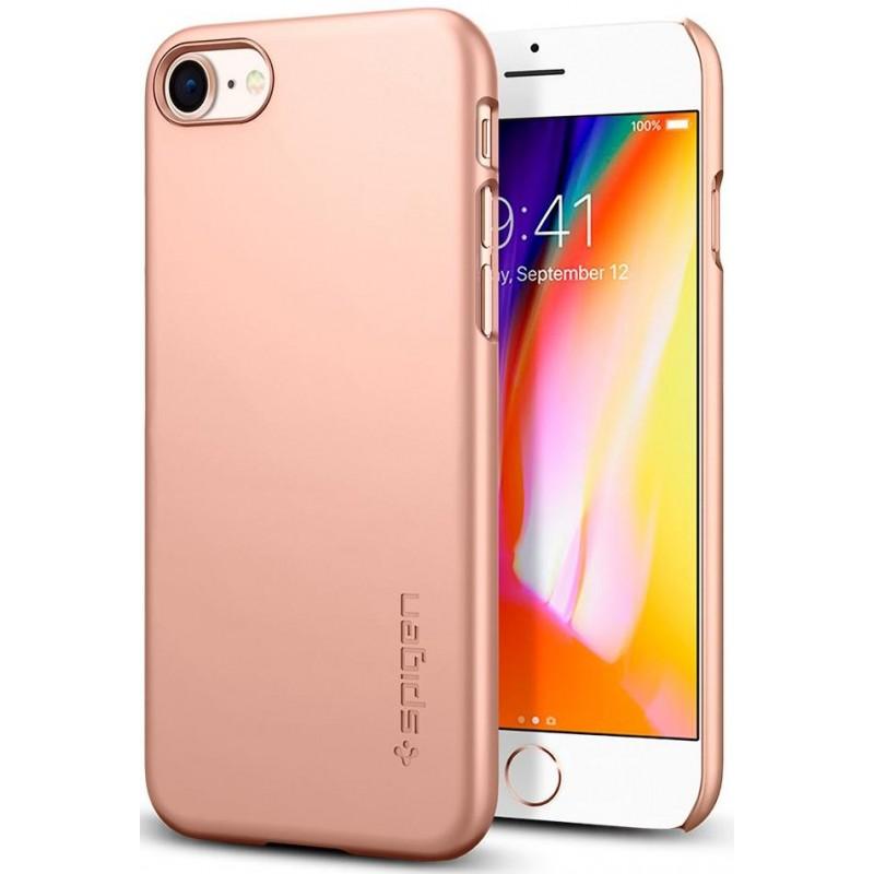 Чехол Spigen Thin Fit (054CS22568) для iPhone 8/SE (2020) (Blush Gold)