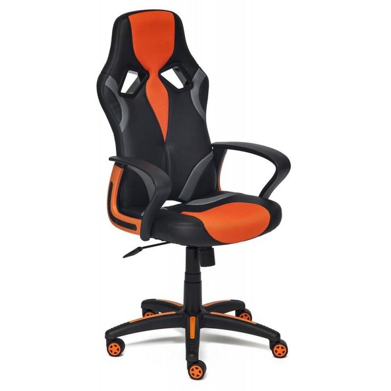 Игровое кресло Tetchair RUNNER (Black/Orange)