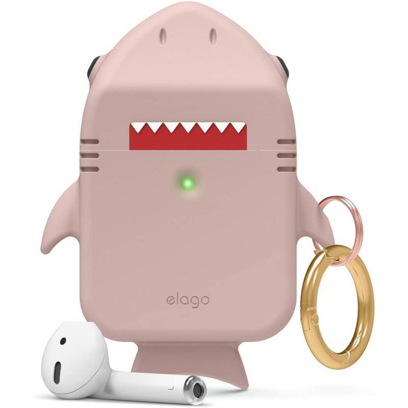 Чехол Elago Shark (EAP-SHARK-PK) для AirPods (Sand Pink)