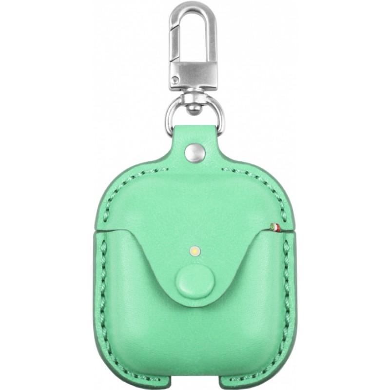 Чехол Cozistyle Cozi Leather (CLCPO007) для AirPods (Light Green)