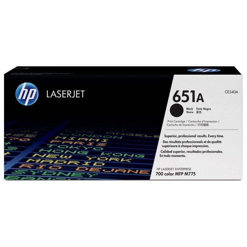 Картридж HP 651A (CE340A) для принтера HP LaserJet (Black)