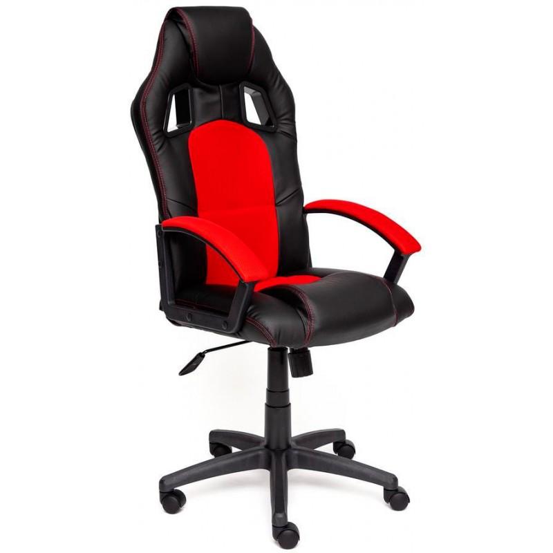 Игровое кресло Tetchair Driver 10371 (Black/Red)