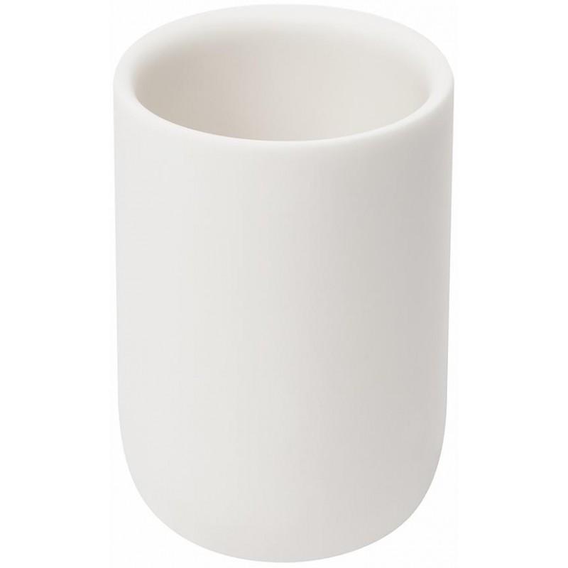 Органайзер-стакан для зубных щеток Junip белый