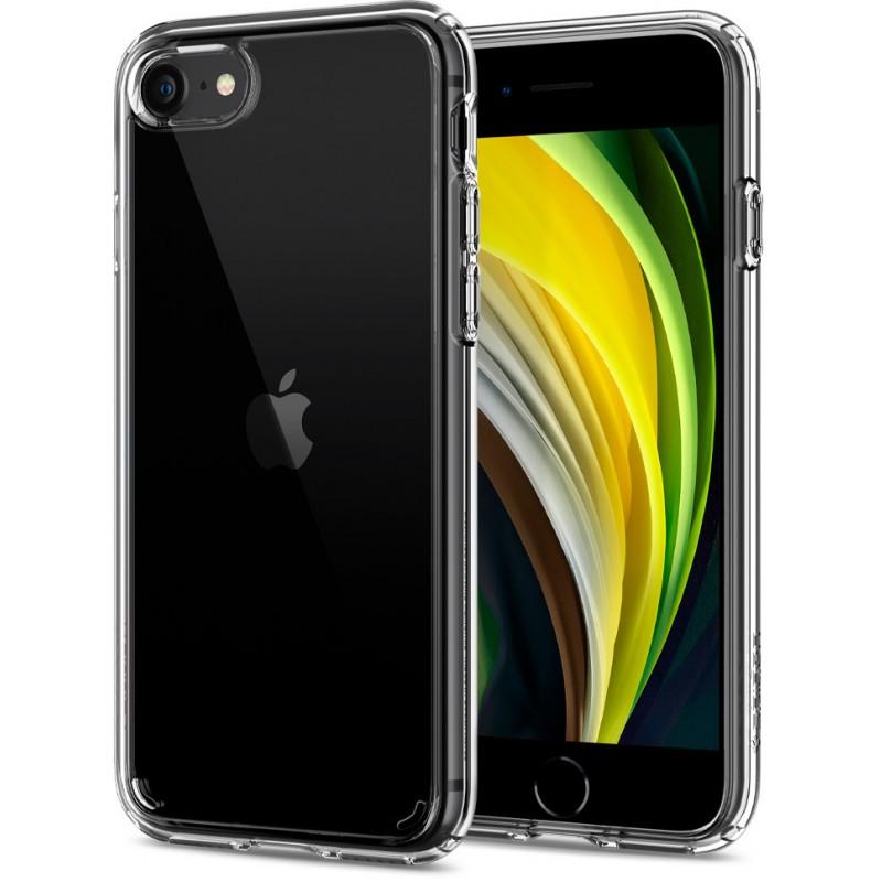Чехол Spigen Crystal Hybrid (ACS00885) для iPhone 7/8/SE 2020 (Clear)