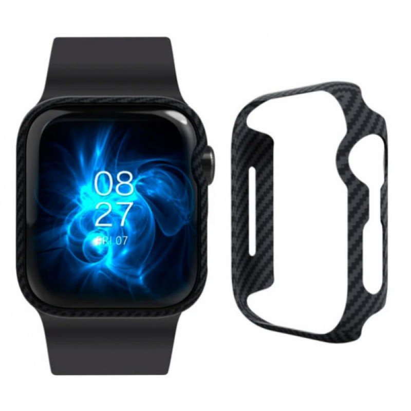 Чехол Pitaka AirCase (KW1002A) для Apple Watch Series SE/6/4/5 44 mm (Black)