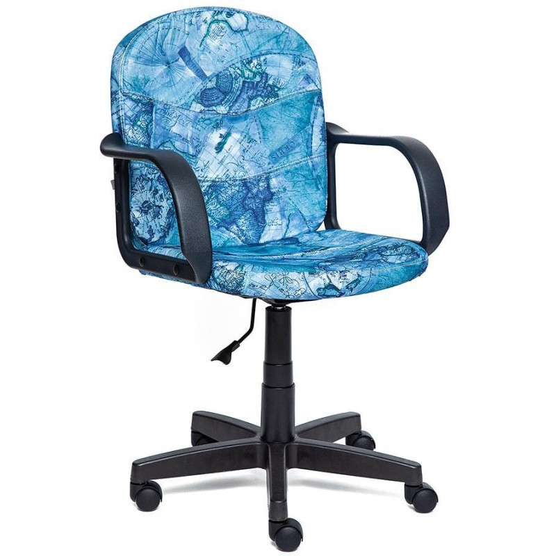 Офисное кресло Tetchair Baggi 10197 (Blue Map)